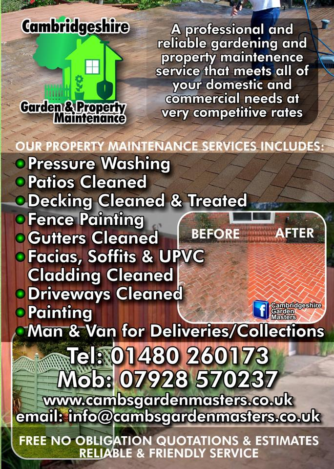 Cambridgeshire Garden Amp Property Maintenance