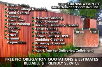 Cambridgeshire Garden Amp Property Maintenance Flyers